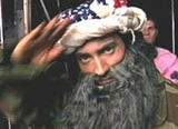 Osama (artist's impression)