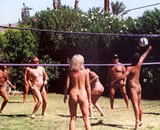 Naturism: More suited to volleyball
